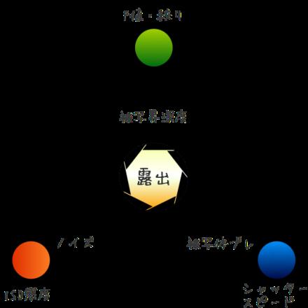 露出トライアングル3つの基本要素