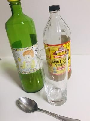 ACVレモンド果汁度ドリンクの作り方